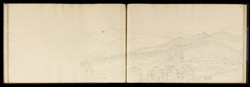 Old Fort, Palamow, from the new. Decr. 1813'